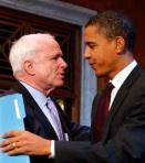 John McCain, Barack Obama